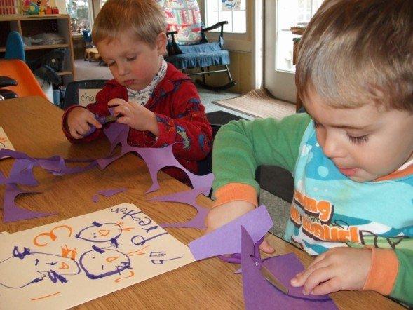 Kids craft time